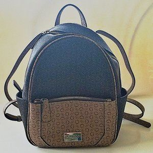 NEW * Guess Brown Leather Backpack